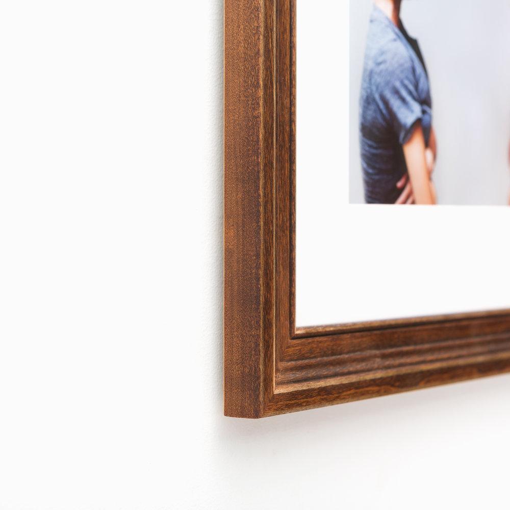 Tahoe // Classic Warm Wood Frame