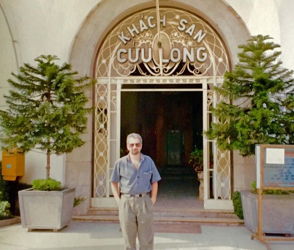 Photograph of Al Mazzone in Vietnam in 1991.