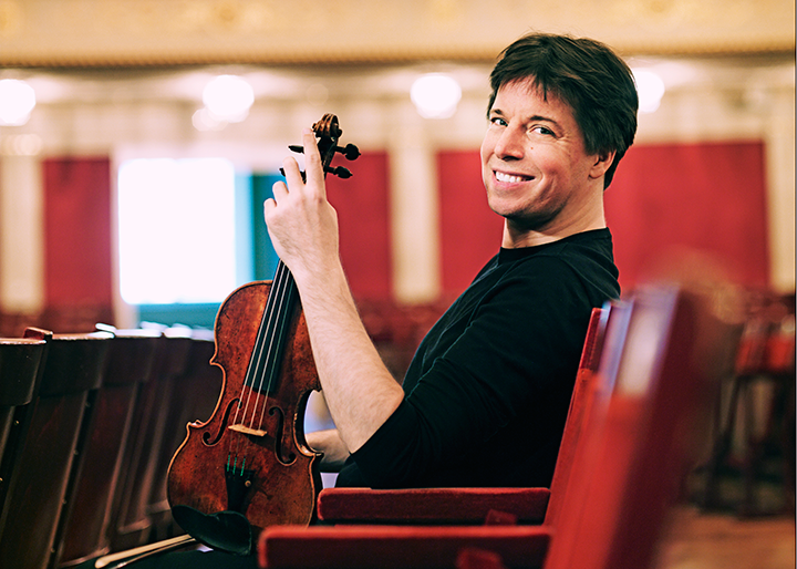Joshua Bell and Alessio Bax, violinist and pianist in recital