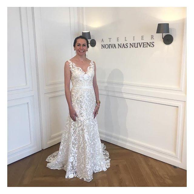 Lucilene 💕 Fechando o ano com chave de ouro!!!! Nossa última noiva maravilhosa que se casou hoje! Toda felicIdade do mundo Lu! #noivanasnuvens um atelier para #noivasreais