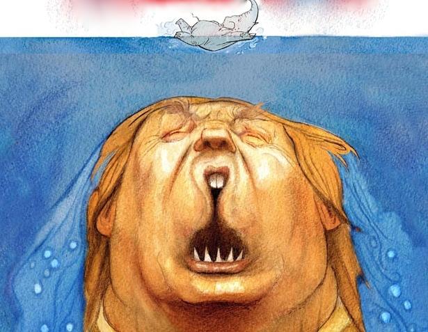 trump jaws