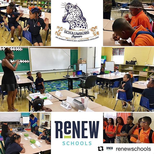 #Repost @renewschools ・・・ ReNEW Schaumburg Jaguars are ready! ✅ #firstdayofschool  #renewschools #nolaed #nola