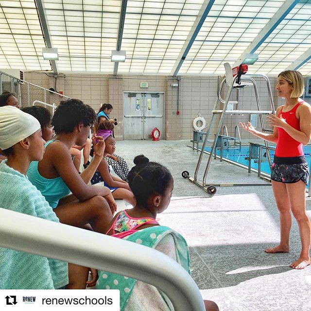 #Repost @renewschools ・・・ Olympic medalist swimmer Kim Vandenberg (@kimswim), a representative of @up2ussports worked with a group of @schaumburgjags girls at Joe W. Brown Aquatic Center today. ReNEW Schaumburg is piloting a swim program for students this year. #renewschools #nolaed #nola