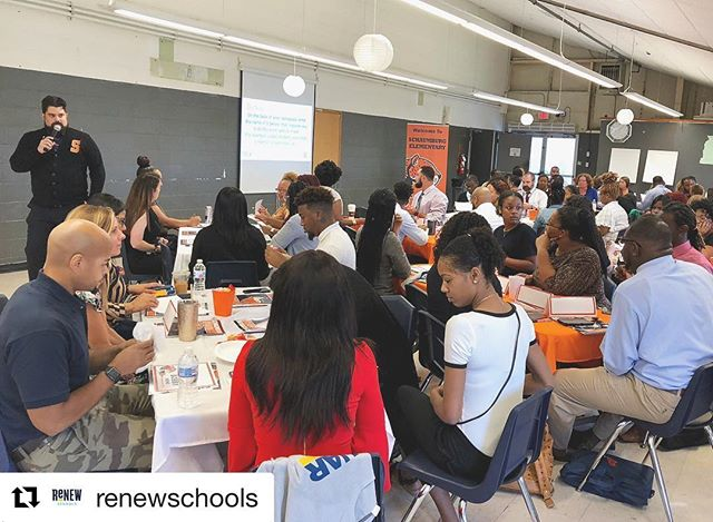#Repost @renewschools ・・・ @schaumburgjags staff working hard — preparing for the new school year. #renewschools #nola #nolaed