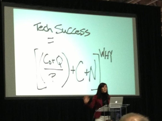 Midori in DC teaching her formula for successful technology deployment.