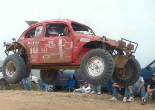 Midori racing the Baja 1000