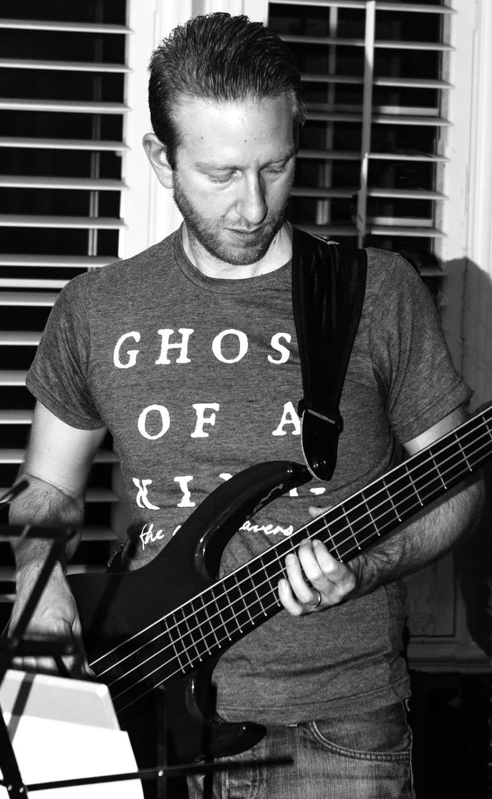 Playing Bass