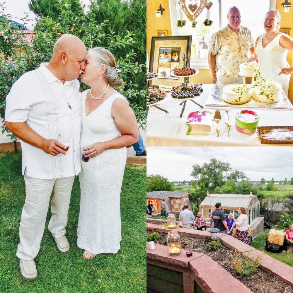 Lisa & Larry's Wedding Vow Renewal - I had the pleasure of photographing Lisa and Larry''s 25th anniversary celebration by photographing their wedding vow renewal at their backyard party where they were surrounded by friends and family.-June 24, 2017: Westminster, CO