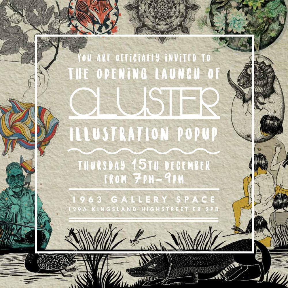 Edition III : Illustration - The third edition but the first of Illustration. Launched December 2016 we had an eclectic selection of artists from all walks of life. From students and newly graduates, amateur artists and professionals, we have clustered them together into one epic collective show.