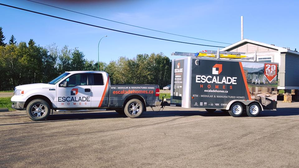 Escalade Homes truck & transport vehicles