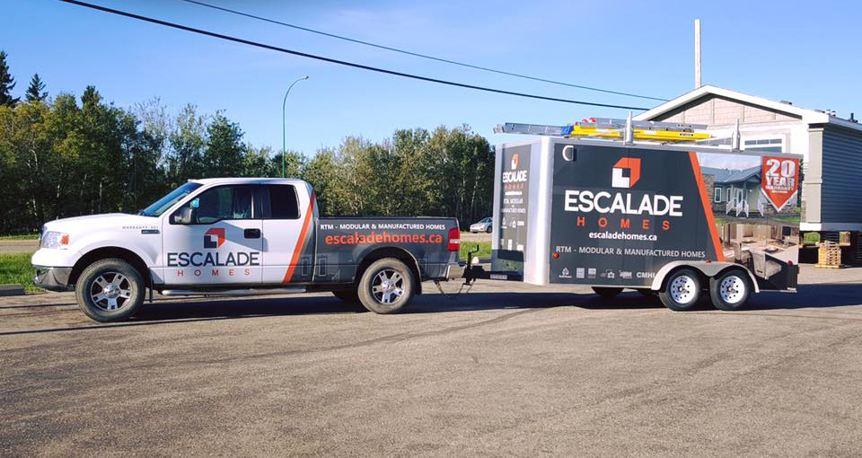 Escalade truck & transport company vehicles