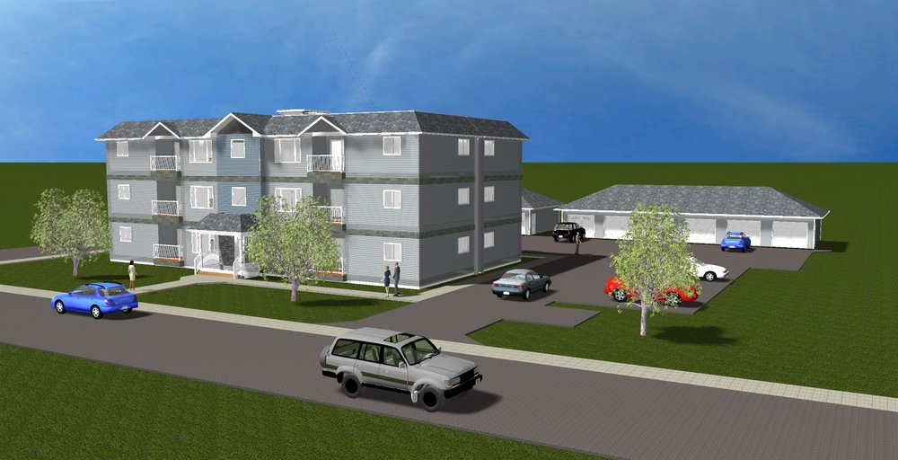 Shellbrook Condo 3D Render