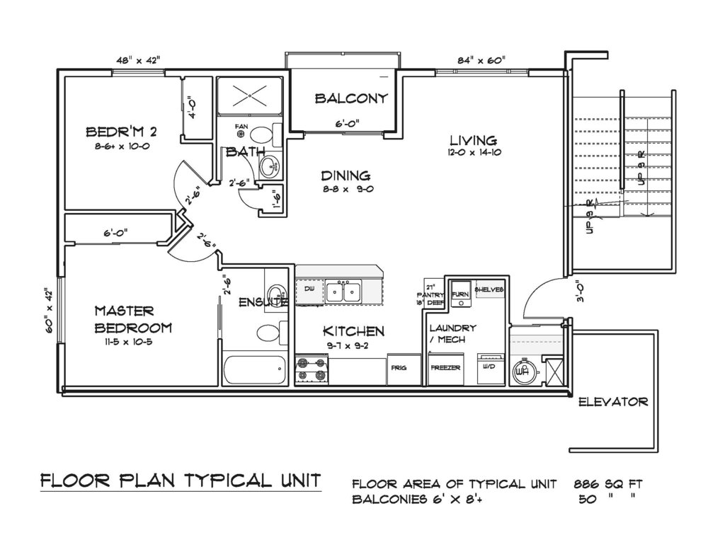 Typical Unit - Floor Plan