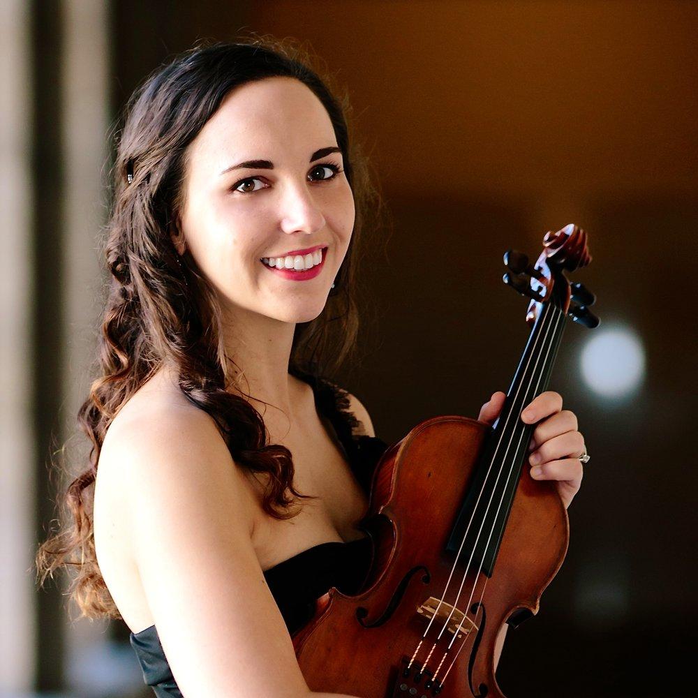 Sarah Pizzichemi   violin -