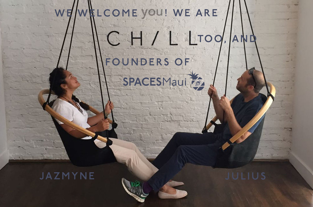 Founders Jazmyne Geis & Julius Geis
