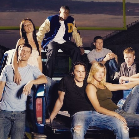 Been a little obsessed with this show lately. Notice I cut out the worst character of the entire show? 😂 Clear eyes, full hearts, can't lose! #fridaynightlights #timrigginsforever