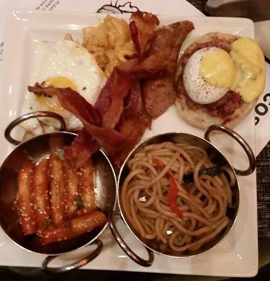 Buffet plate from Cosmopolitan's Wicked Spoon Buffet
