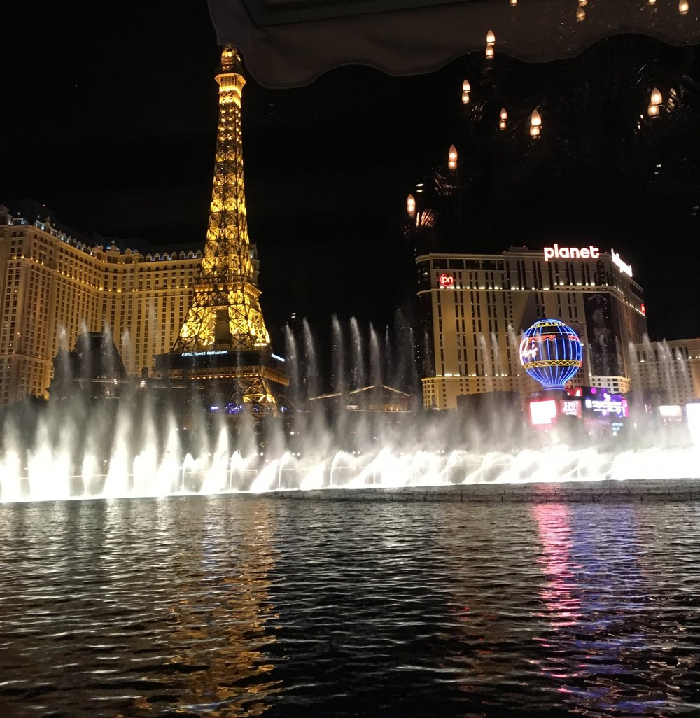 Hyde at Bellagio's view