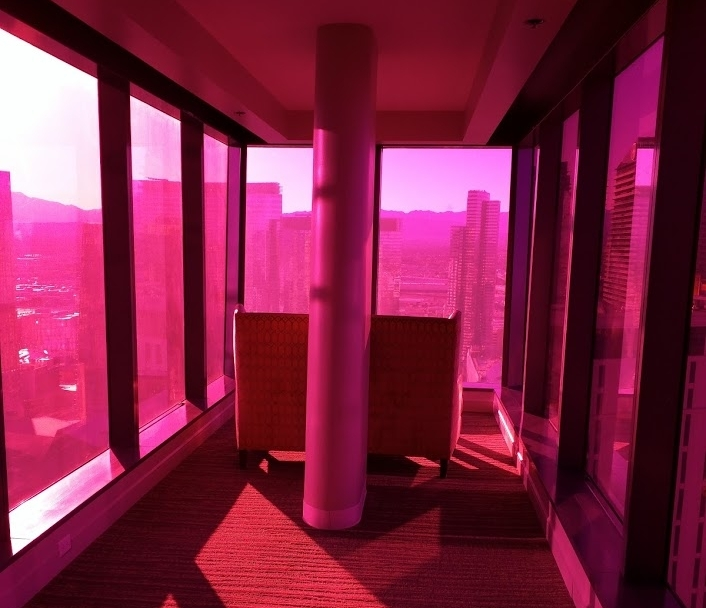 "Elara - The ""Pink Tunnel"" in our 4 bedroom suite at Elara"