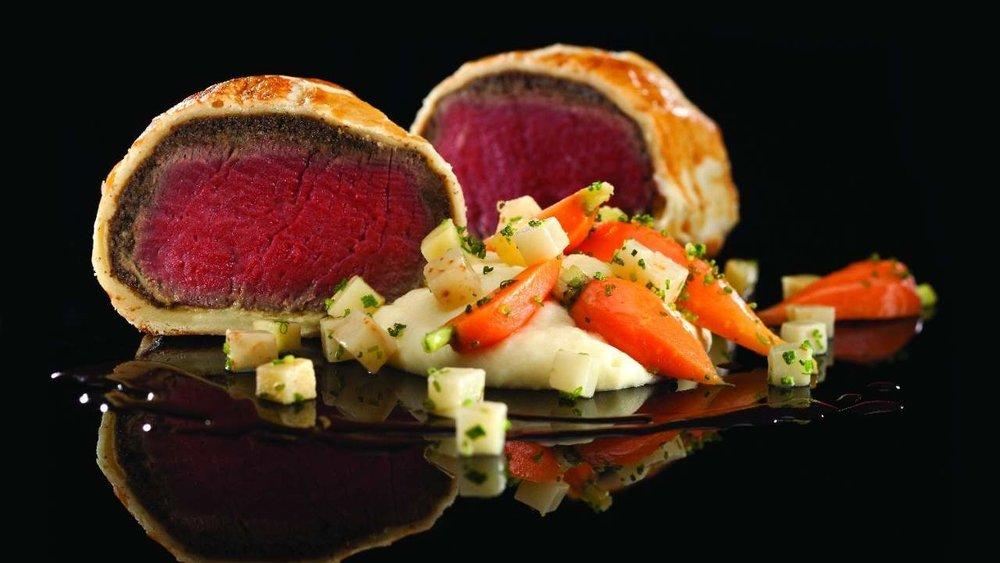 Beef Wellington at Gordon Ramsay Steak Las Vegas