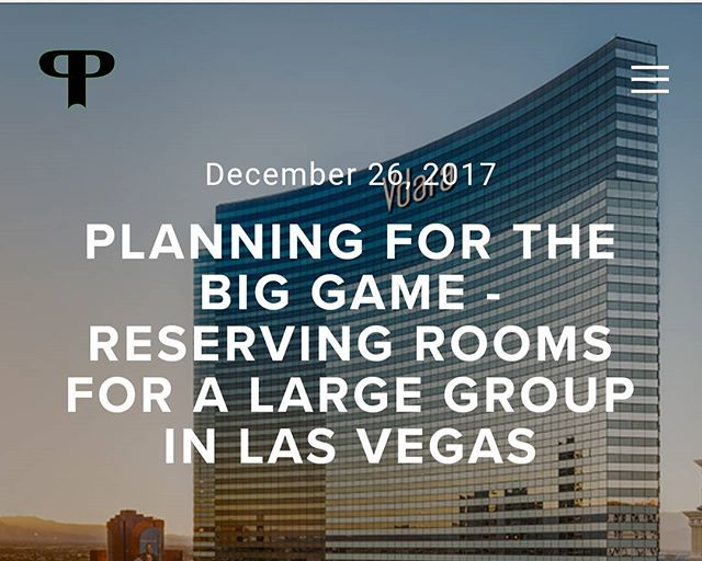 New blog post: our experience finding a new place to stay for the big game. Link in bio. . . . . . #vegasbiggame #vegas #lasvegasssuites #lasvegas #lasvegasbiggame #vdara #elara #bacheloretteparty #bachelorparty #tripplanning