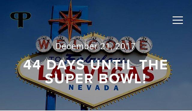 44 Days until the Superbowl! Have you found your Las Vegas Big Game Viewing Party yet?  Link in bio. . . . . #vegassuperbowl#tripplanning #hotels #vegasstrip #lasvegas #lasvegassuperbowlweekend #vegastrip #lasvegassuperbowl #vegasbiggame #vegassuperbowl