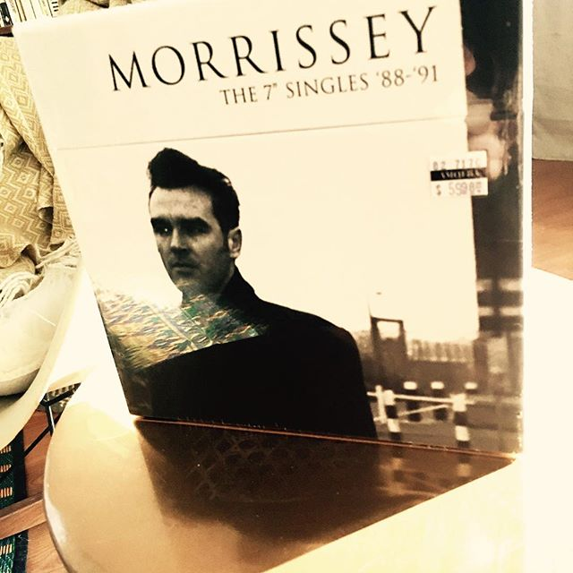 Couldn't resist... - - - - #singyourlife #vinyl #morrissey #amoebamusic #thesmiths #bonadrag #vivahate
