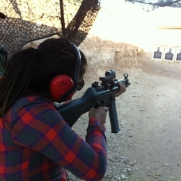 bullets and burgers - range girl shooting.jpg