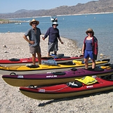 desert adventures - kayak group beach lake mead.jpg