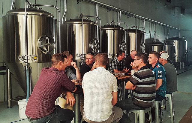 The perfect setting 🍺 Tasting from the source is what the #HopsAndBrew experience is all about • Learn and enjoy new flavours from Australia's best craft breweries!