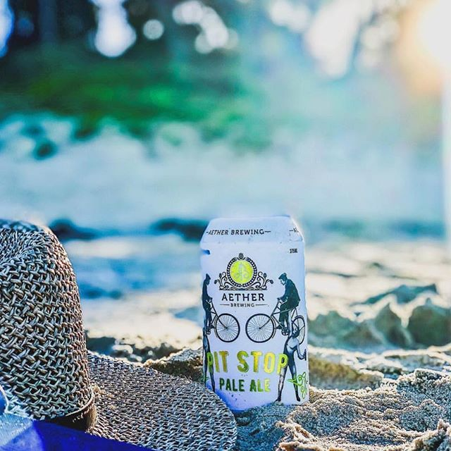 Brewery to Beach 🍺 @aether_brewing @al.ban ⭐️ Take your love for beer on a tour with #HopsAndBrew and experience your favourites in a whole new way -straight from the brewery! • Book Now!