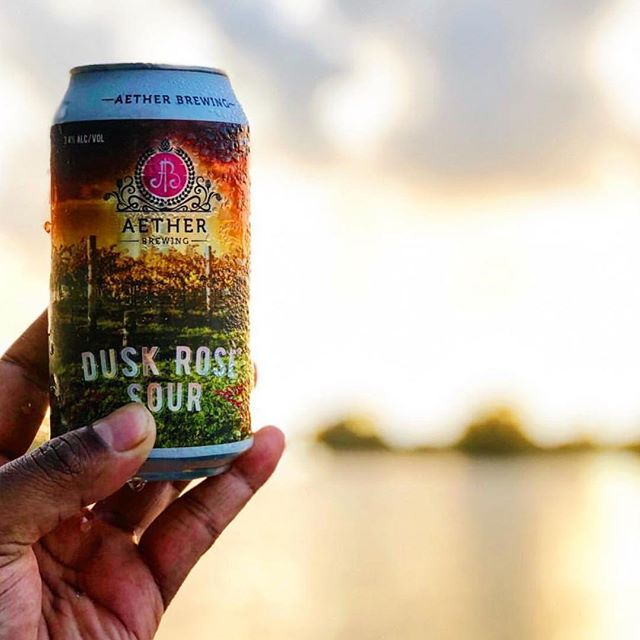 Heaven is Calling....🍺🍺 Happy Weekend from @hopsandbrew and this Dusk Rose Sour from @aether_brewing 🙌🏼🙌🏼
