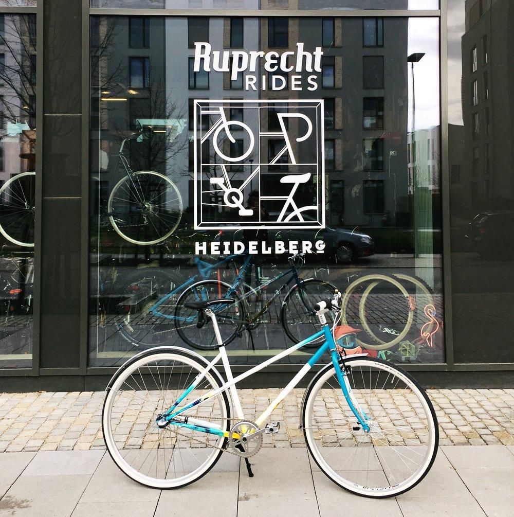 Ruprecht Rides, Heidelberg Bike Kunst