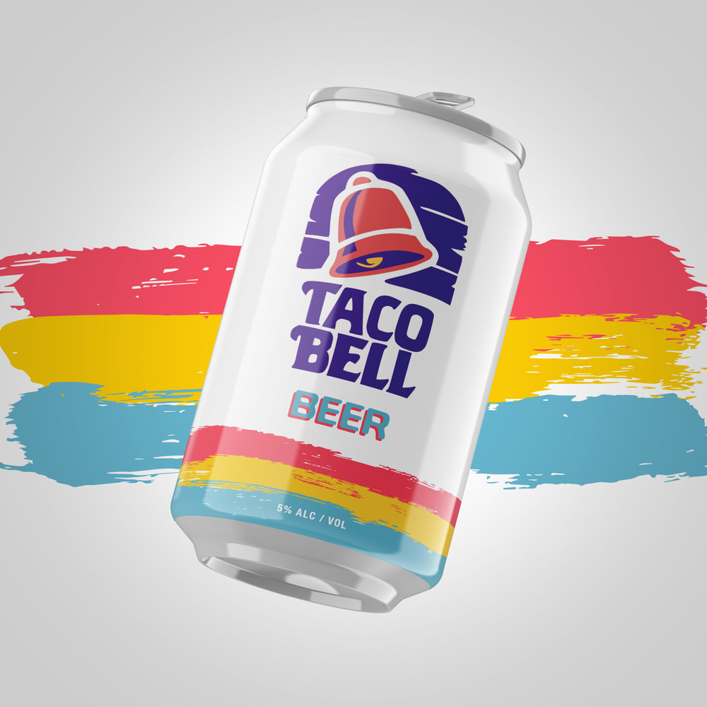 1992–1994 - The shortest-lived, and in my opinion, the best Taco Bell brand identity.