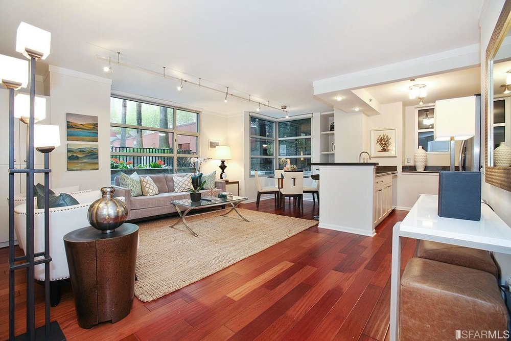 1701 Jackson Street Unit 108 - Pacific HeightsSold for $1,215,000