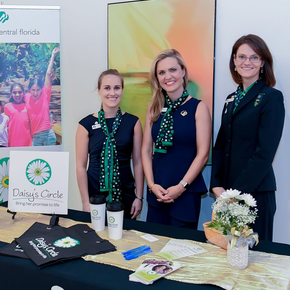 GS Development Manager, Elizabeth Szostak, CEO, Jessica Muroff, and CDO, Stephanie Wilson, recently celebrated the  Daisy's Circle  150 monthly giver member milestone.