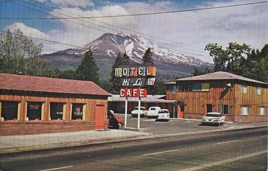 Hi-Lo Motel & Cafe, circa 1950's