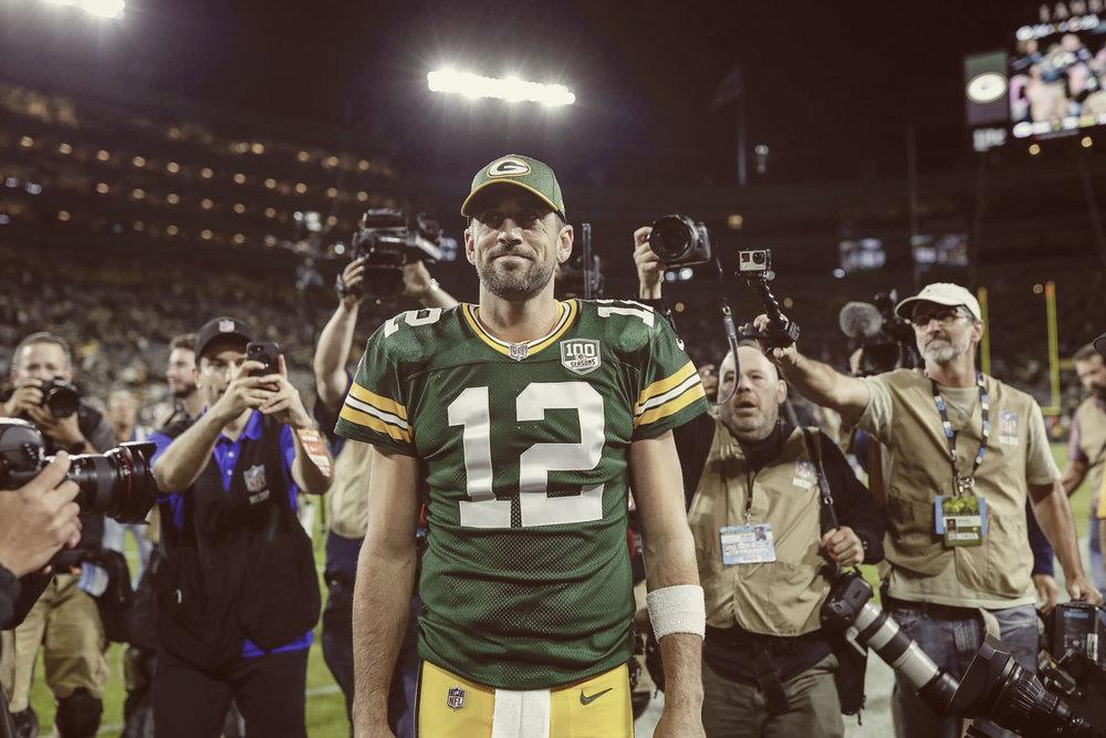 Via: Evan Siegle,  Packers.com