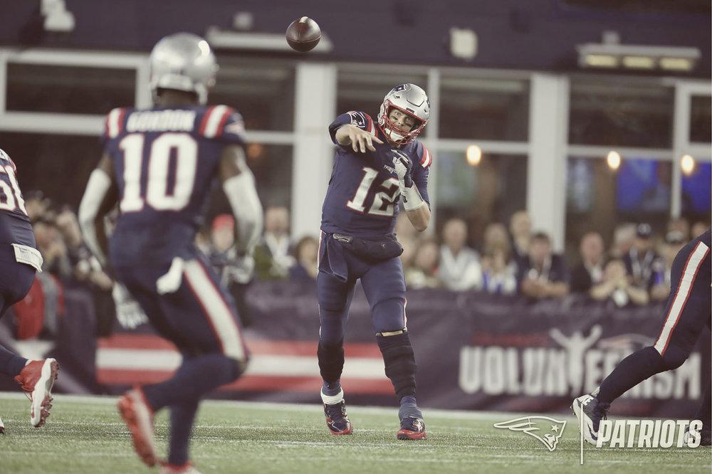 Via:    New England Patriots/David Silverman