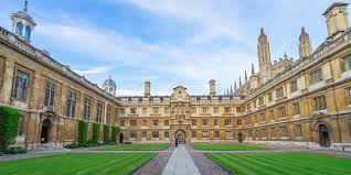 CAMBRIDGE UNIVERSITY - COMPLETED: HAVEN'T STARTED