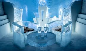 THE ICE HOTEL - COMPLETED: HAVEN'T STARTED
