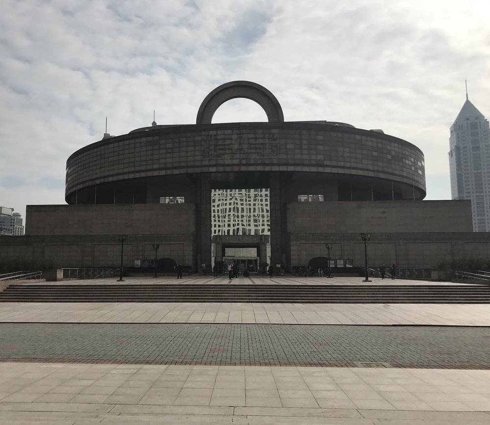 shanghai museum - COMPLETED: JANUARY 2017