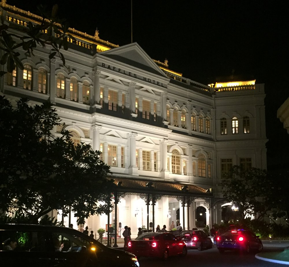 RAFFLES HOTEL & THE E&O EXPRESS - COMPLETED: ONGOING
