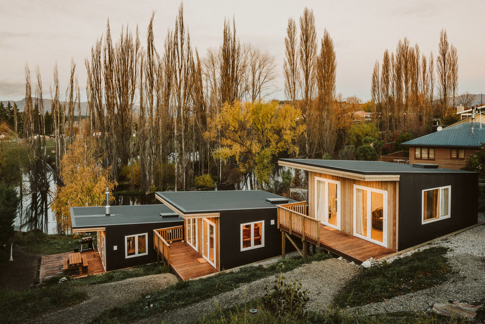 Waters Huts, Albert Town, Wanaka - May 2018
