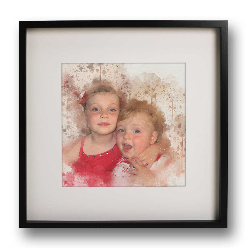 To make our artworks affordable, our standard prints are sized to fit these frames: 30x30cm - OPTION ONE  • OPTION TWO • 20x30cm - OPTION THREE • 21x29.7cm - OPTION FOUR