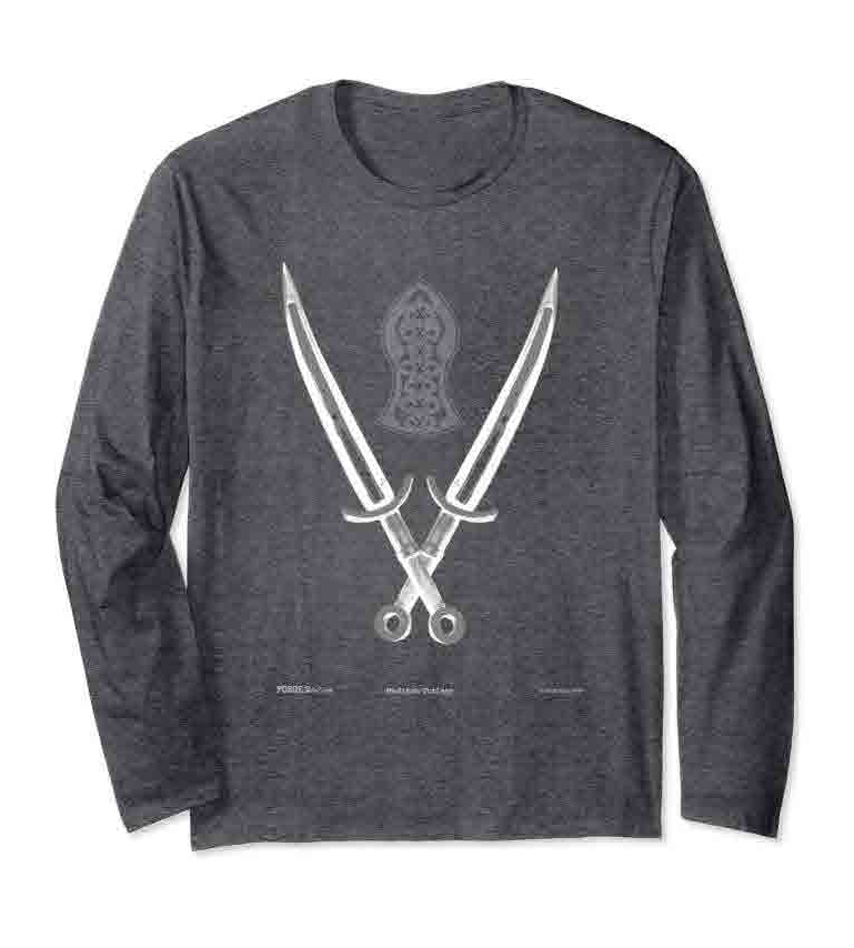 Cutlass Sword & Shield - Long Sleeves -