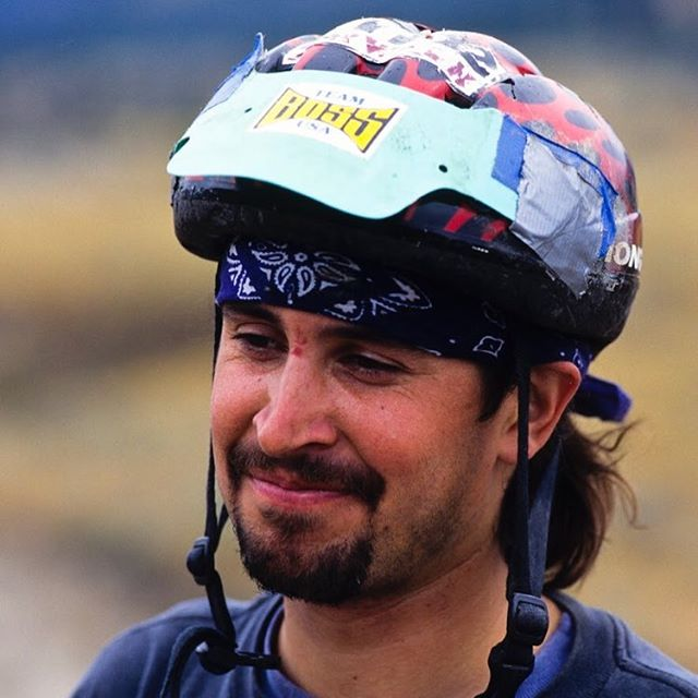 "Freeride pioneer Craig Olson's helmet says ""Team Boss USA"" — and it just so happens we're coming back down to the 🇺🇸 for @newportbeachfilmfest! The film plays at 5:45pm on April 30th and tickets can be found on the film festival website or our Facebook page. Come say hello! We'd love to see you! Photo: @ericbergerphoto, 1996. #thesportthatnobodywanted @bikemag @rideshimano"