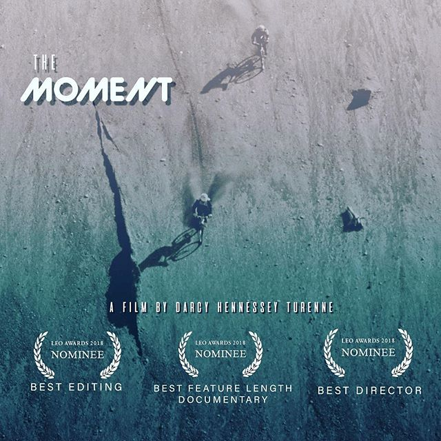 More big news! @the_moment_movie has been nominated for 3 Leo Awards for Best Feature Length Documentary, Best Director, and Best Editing! This is really exciting because my vision for this film from the very beginning was to make a documentary about mountain biking, not a mountain bike film. To be recognized as a documentary at such a high level is a huge honor and I am thrilled that a wider audience will be able to experience the amazing history of the sport! 🚴🏻‍♀️ Photo by @ericbergerphoto  @rockymountainbicycles  @rideshimano  @ryderseyewear  @whistlerbikeprk  @whisfilmfest  @gowhistler  @tourismkamloops  @bikemag  @pinkbike  @sunshinecoastbc  @tourismnorthvancouver  @rosslander