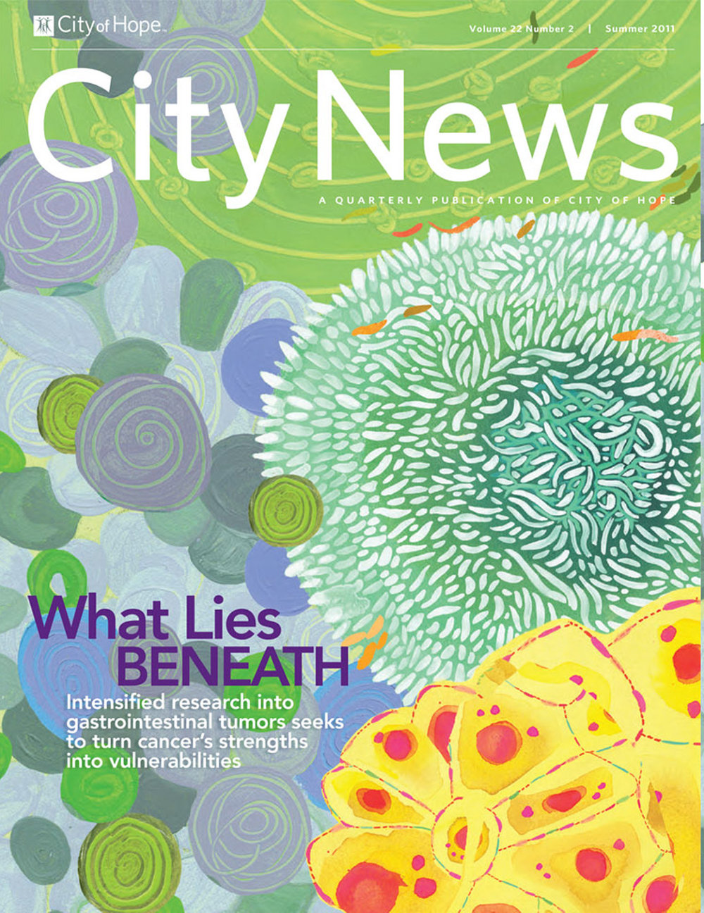 City News, a quarterly publication of City of Hope