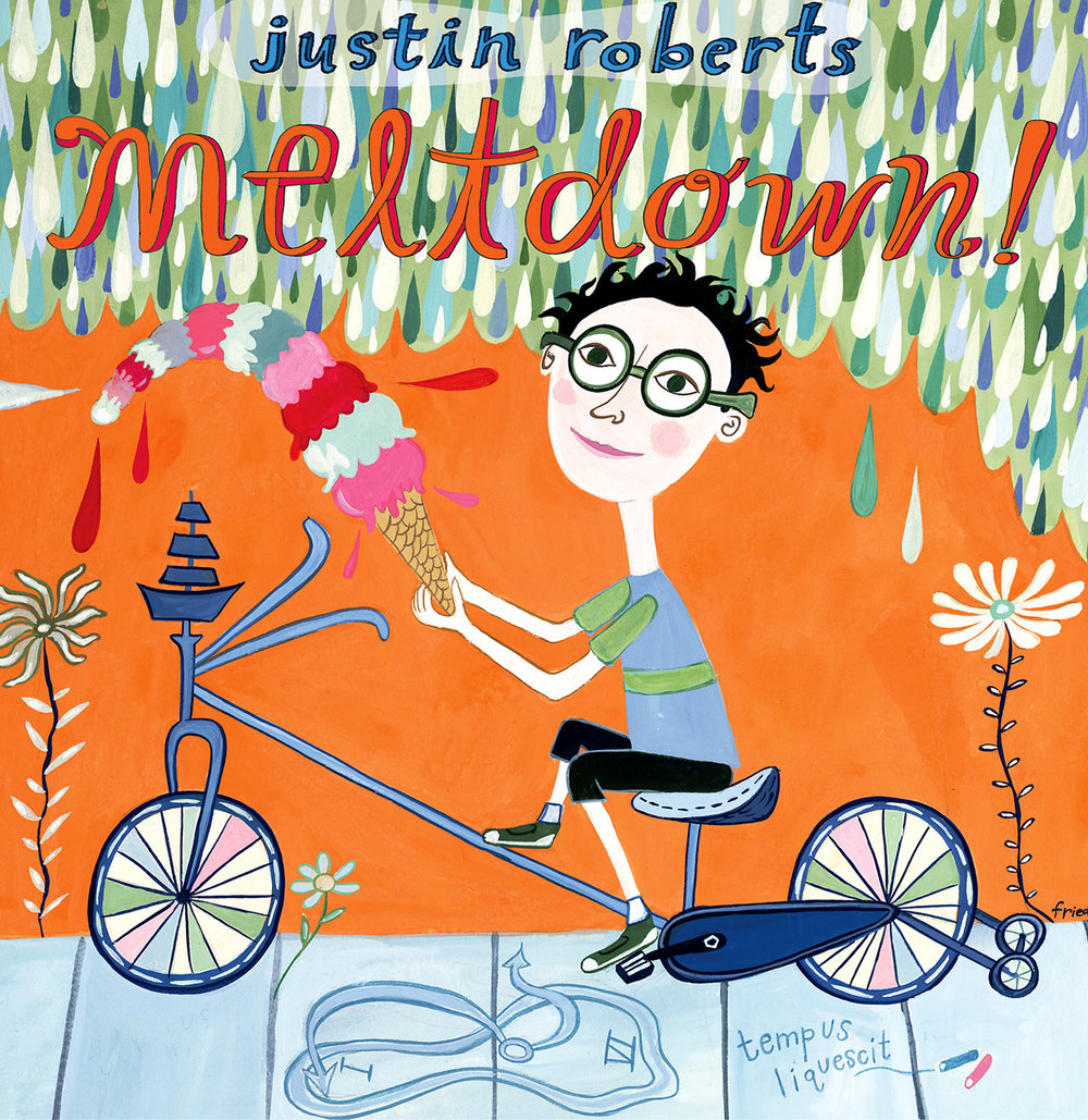Meltdown CD by Justin Roberts